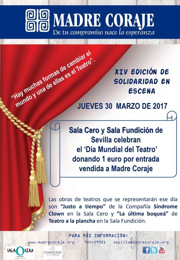 Madre Coraje y Día mundial del Teatro